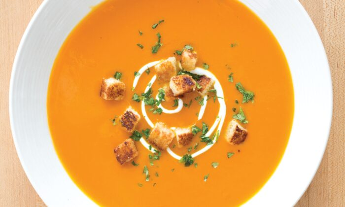 This simple soup is sweet, creamy, and a little bit spicy. (Marie Piraino)