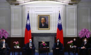 Taiwan President Warns Over Beijing's Regional Threat While Welcoming US Delegation