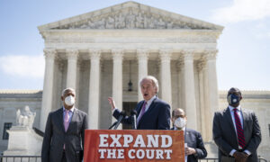 Democrat's Supreme Court Packing Bill Political 'Takeover' of Judiciary, Expert Says