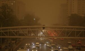 Beijing Skies Turn Yellow as Sand, Dust Engulf Chinese Capital