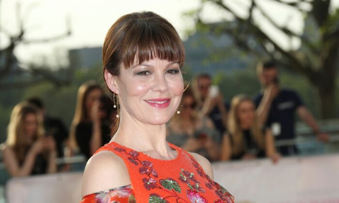 Actress Helen McCrory arrives at the British Academy Television Awards in London on May 8, 2016. (Joel Ryan/Invision/AP, File)