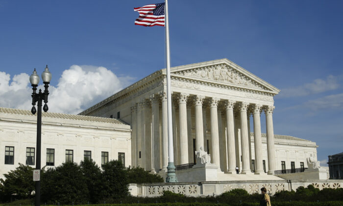 The Supreme Court of the United States in Washington on May 7, 2019. (Samira Bouaou/The Epoch Times)
