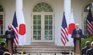 Biden Seeks Unity With Japan's Suga Against China, at First White House Summit