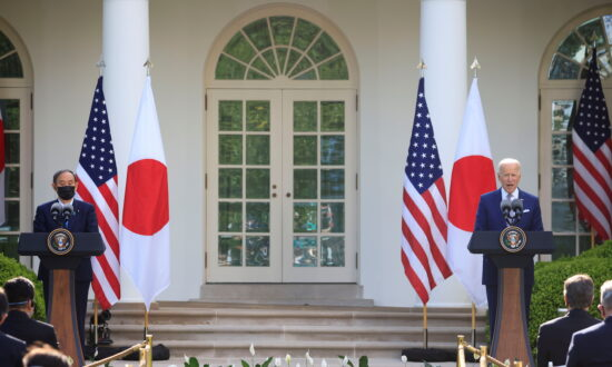 Biden Seeks Unity With Japan's Suga Against China at First White House Summit