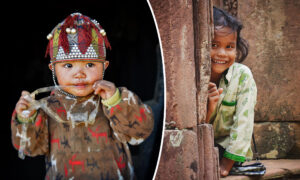 <p>Italian Photographer Captures Incredible Portraits of Children From Around the World thumbnail