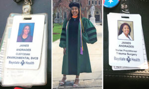 <p>Woman Becomes a Nurse Practitioner at Precisely the Same Hospital She Was a Custodian 10 Years Ago thumbnail