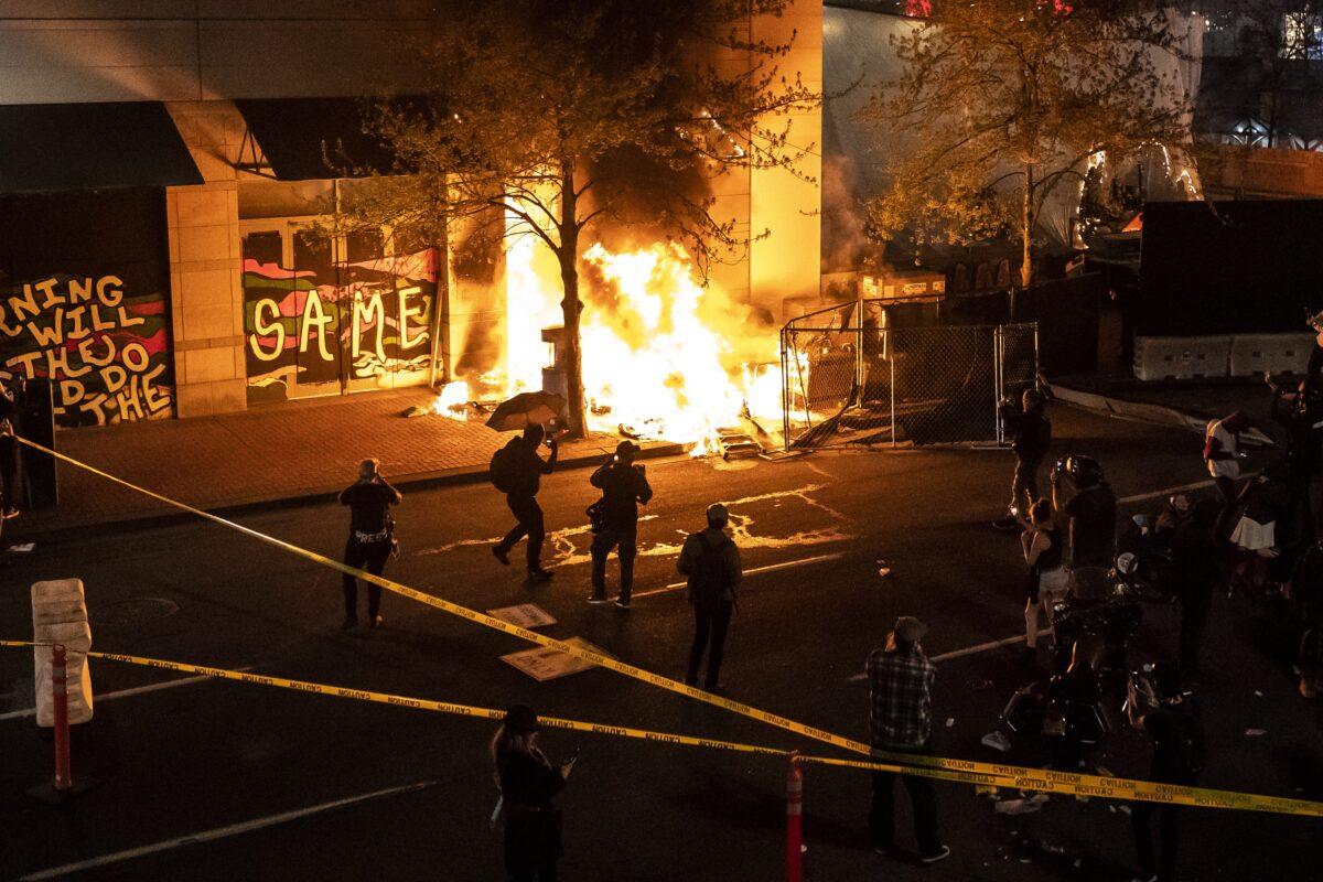 portland riot