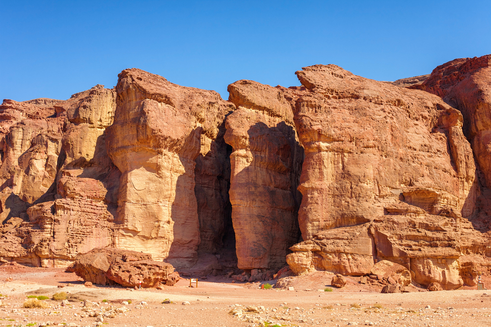 The,Solomons,Pillars,Geological,And,Historical,Place,In,Timna,Park