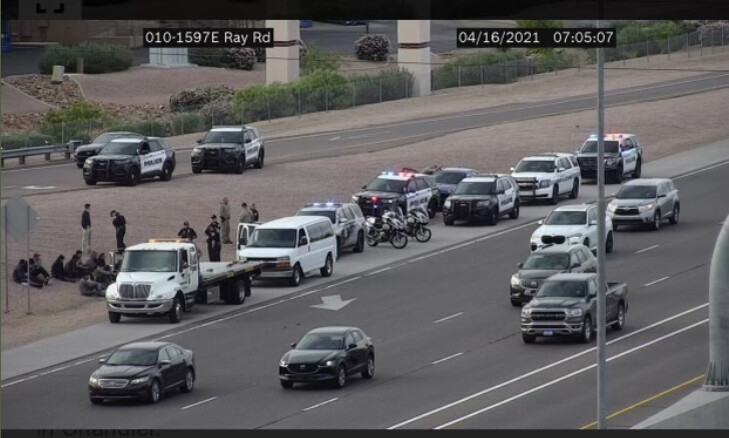 Arizona State Troopers Release 17 Illegal Aliens After ICE Declines to Take Custody