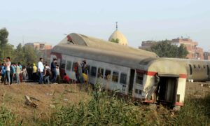 Egypt Says 11 Killed in Train Crash North of Cairo