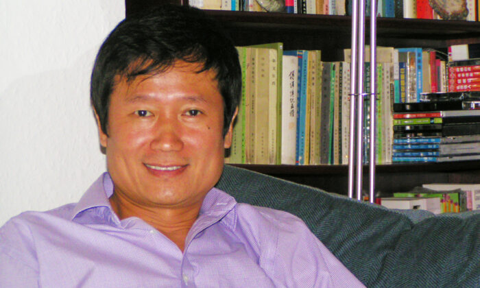 Pu Zhang, author, Jung Chang's younger brother, at his home in London in 2012. (Courtesy of Pu Zhang)