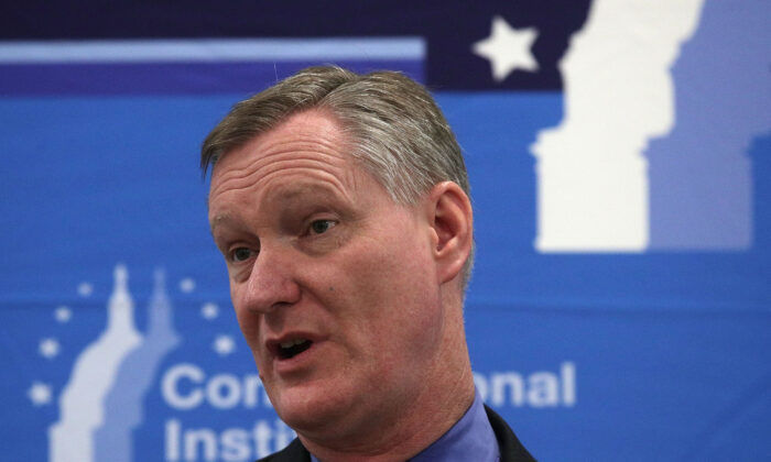Rep. Steve Stivers (R-Ohio), seen in West Virginia in 2018, is preparing to leave office in May. (Alex Wong/Getty Images)
