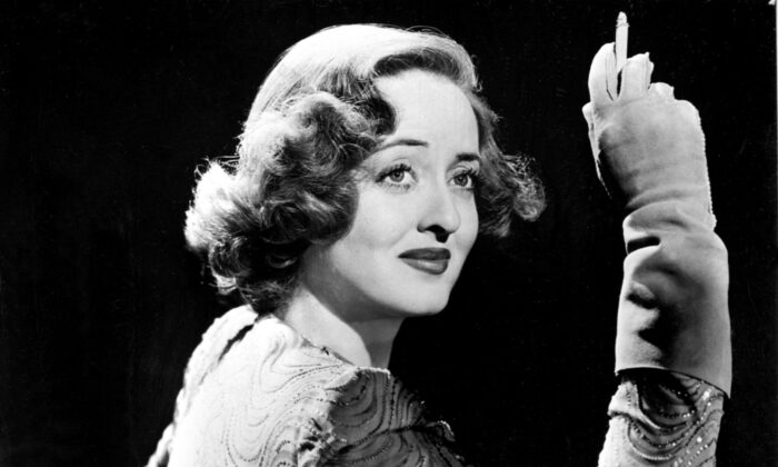 Bette Davis in a 1940s publicity photo. (STF/AFP via Getty Images)