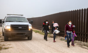 CBP Southern Border Arrests Hit Record Levels in April, Unaccompanied Minors Down
