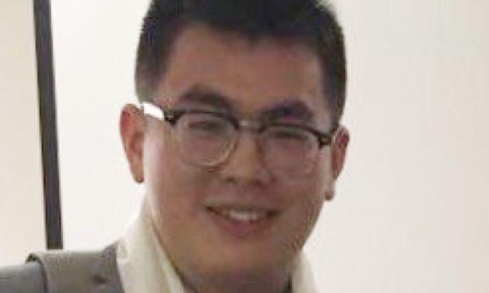 Tian Chang, a young Chinese journalist. (Screenshot via The Epoch Times)