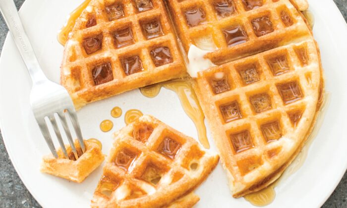 A little bit of planning before bedtime means you get tasty waffles in the morning. (Sally Staub)