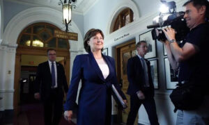 Former B.C. Premier Christy Clark Testifies at Money Laundering Inquiry