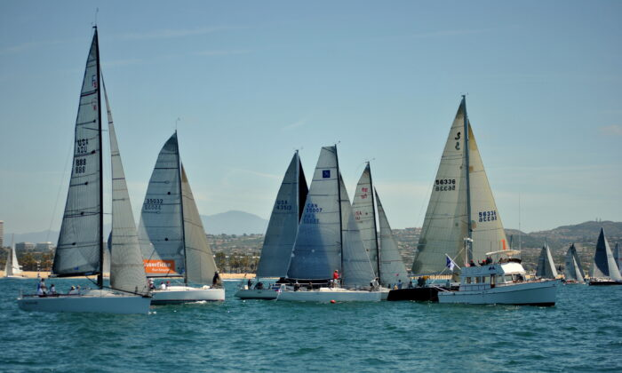 The Newport to Ensenada International Yacht Race hosted by the Newport Ocean Sailing Association, returns April 23, 2021. (Courtesy of the Newport Ocean Sailing Association)