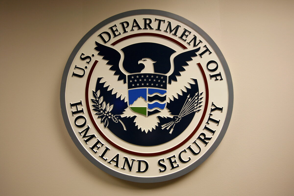 Department of Homeland Security emblem