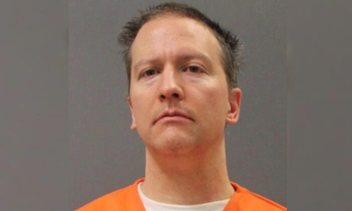 Former Minneapolis police officer Derek Chauvin in a mugshot released on April 21, 2021. (Minnesota Department of Corrections)