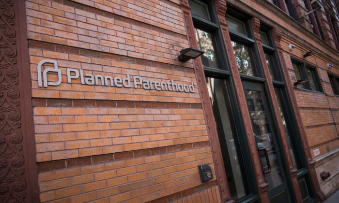 A Planned Parenthood office is seen in New York City on Nov. 30, 2015. (Andrew Burton/Getty Images)