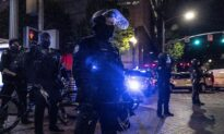 Portland Rioters Smash Windows at Starbucks, Attack Police Officer