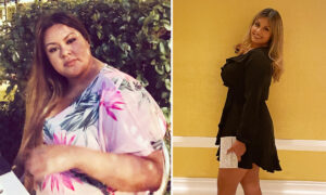 Woman Told She'd Die if She Didn't Lose Weight Undergoes Dramatic Transformation, Sheds 150lb