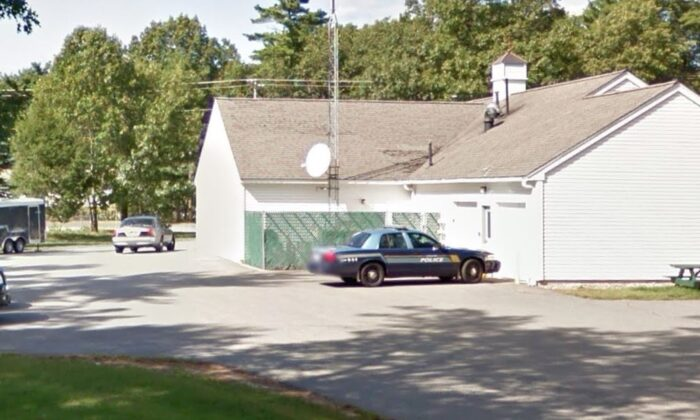 The police department in Kingston, N.H., is seen in an undated photograph. (Google Maps)