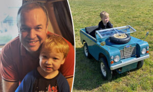Creative Dad Builds a Miniature Version of Family's Land Rover for Car Obsessed Son