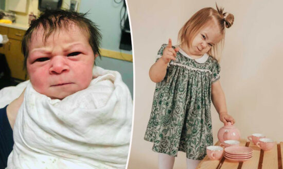 Mom Gives Birth to Angry-Faced Baby, Thankful She is Healthy After Oligohydramnios Diagnosis