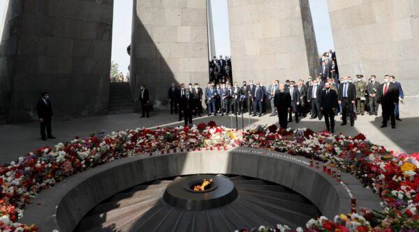 Memorial service in Armenia