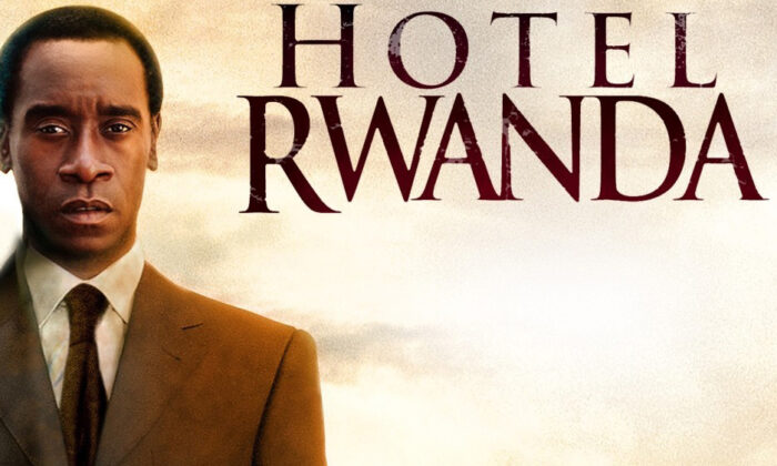 """Don Cheadle stars in """"Hotel Rwanda."""" (United Artists and Lions Gate Films)"""