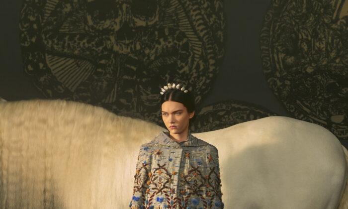 (Elina Kechicheva for Dior)