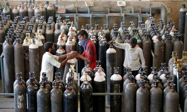 oxygen cylinders India
