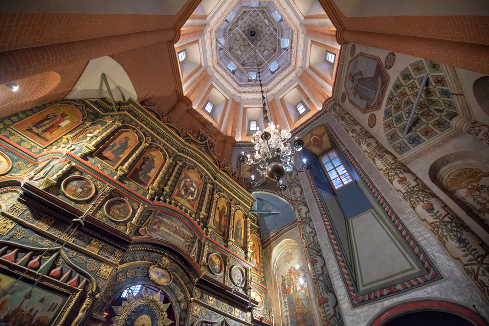 Moscow,,Russia,-,10.02.2020:,Interior,Of,Saint,Basil's,Cathedral,Or