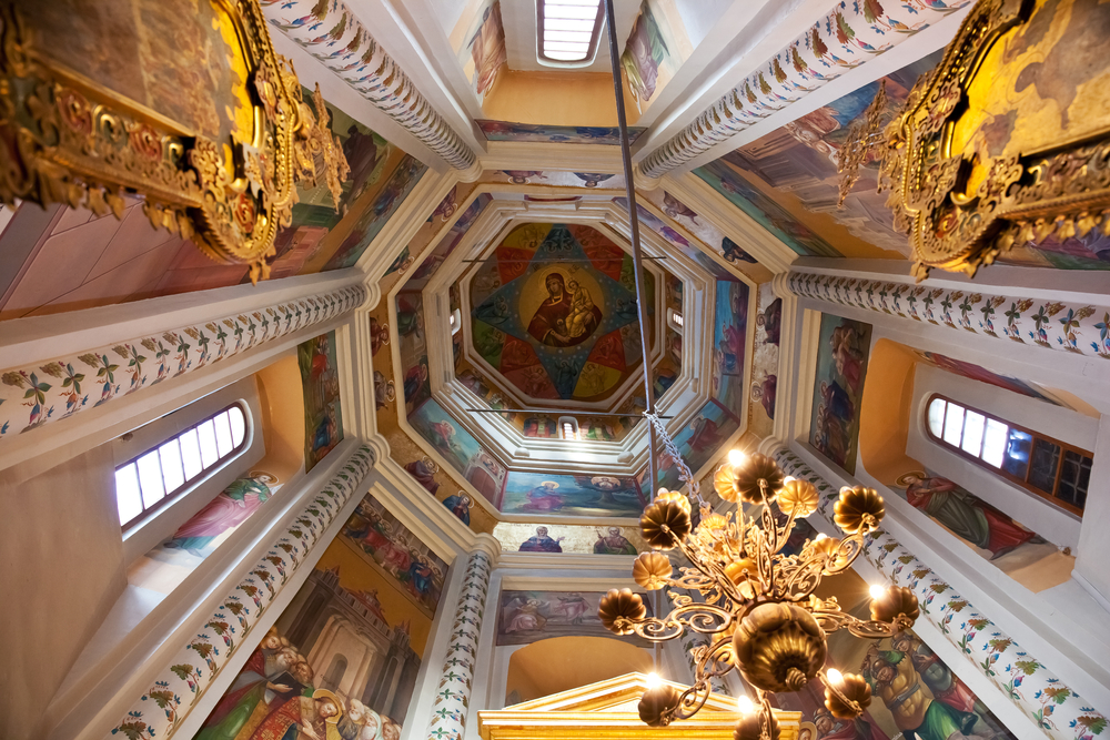 Moscow,,Russia,-,September,26,,2013:,Interior,Of,St,Basils