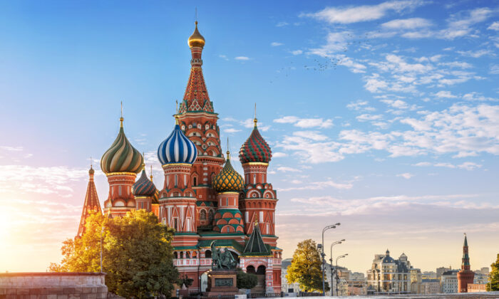 The Cathedral of St. Basil the Blessed, as it is commonly known, in Moscow's Red Square, Russia. (Baturina Yuliya/Shutterstock)