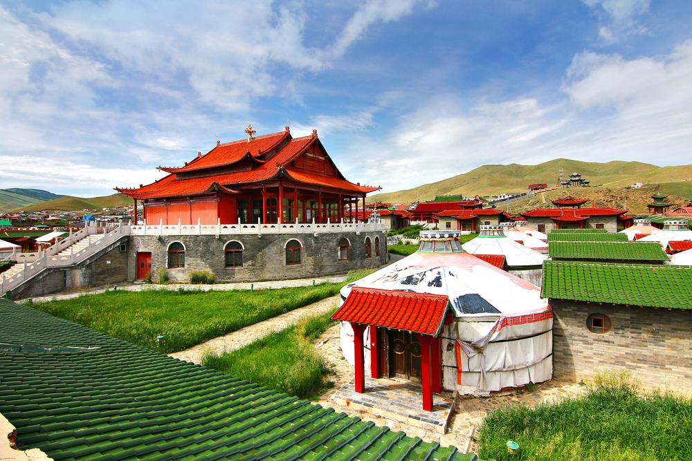 The,Ger,Camp,At,Ulaanbaatar,,,Mongolia