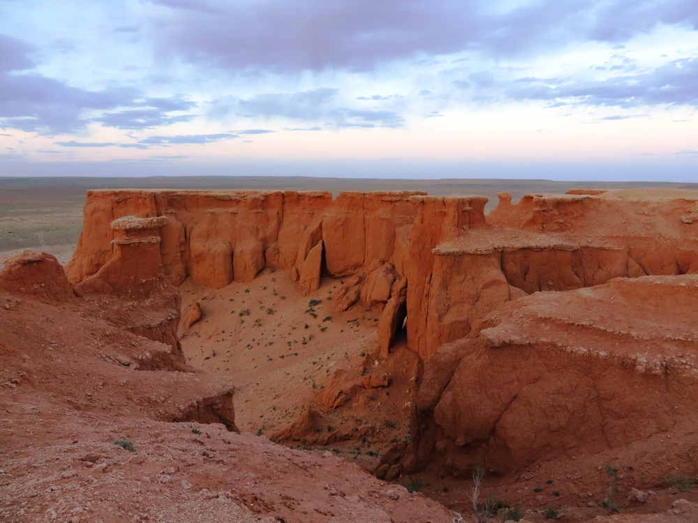 Flaming,Cliffs,Mongolia
