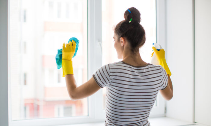Washing the windows now will let you enjoy a clear view and more sunlight all spring and summer long. (Myroslava Malovana/Shutterstock)