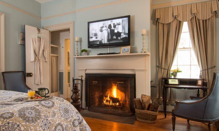 Modern amenities meets Old World elegance at Caldwell House Bed & Breakfast in Salisbury Mills, N.Y. (Courtesy of Caldwell House Bed & Breakfast)