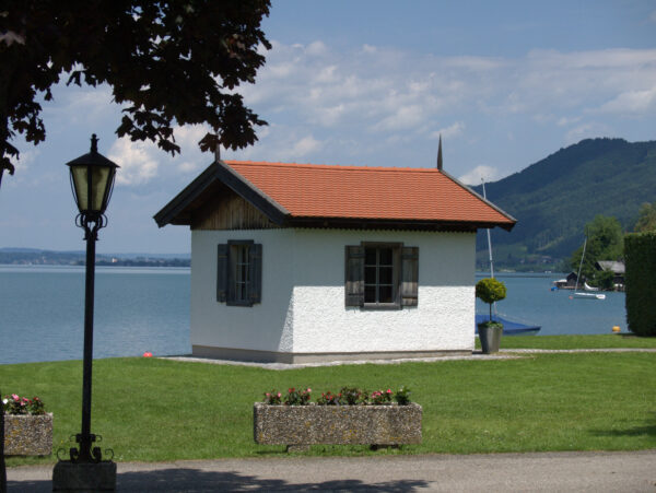 Gustav Mahler's composing hut in Steinbach at Lake Attersee in Austria.