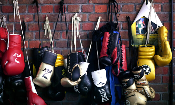 Boxing gloves are seen in this file photo. (Alex Davidson/Getty Images)