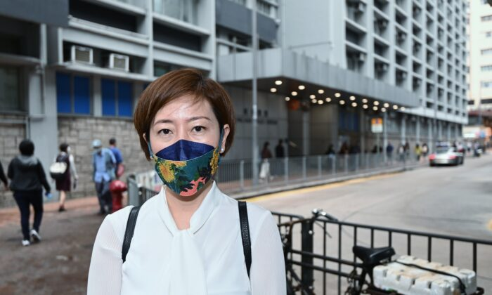 Epoch Times reporter Sarah Liang in Hong Kong on April 27, 2021. (Sarah Liang/The Epoch Times)