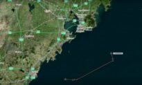 Graphic Shows Oil Tanker's Last Movements Before Collision Outside Chinese Port