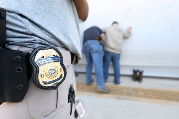 U.S. Immigration and Customs Enforcement's (ICE) Homeland Security Investigations (HSI) execute criminal search warrants
