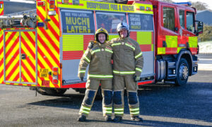 Dad and Daughter, 20, Become Derbyshire's First-Ever Firefighting Duo for the Same Service