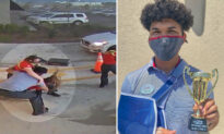 Chick-fil-A Employee Sees Co-workers Outside Struggling in Storm, Rushes to Help, Hailed a Hero