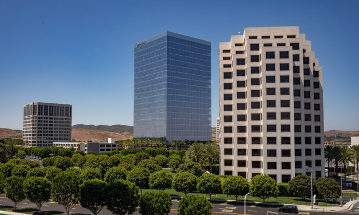 Irvine, Calif.,  was named the best large city in California to do business in a recent study. (John Fredricks/The Epoch Times)
