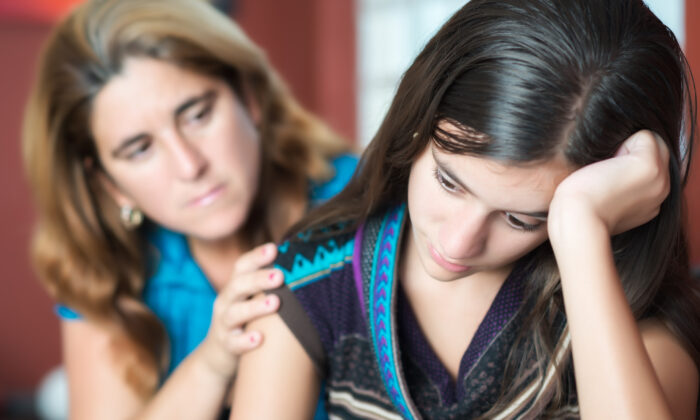 Teens' moods can fluctuate wildly, but after several years it eventually dissipates in most teens. Parents can help during this tumultuous time by giving them understanding, attention, and affirmation. (Kamira/Shutterstock)
